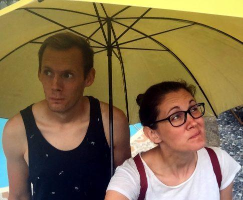 Sir Jan und der gelbe Regenschirm